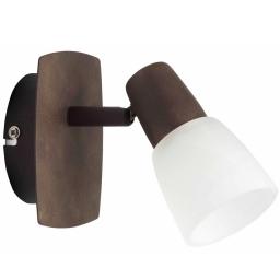 Zidno-plafonska lampa MILOS 1XE14 stari bakar  BRILLIANT