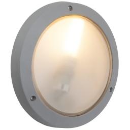 Zidno-plafonska spoljna lampa SKIPPER E27x1siva BRILLIANT