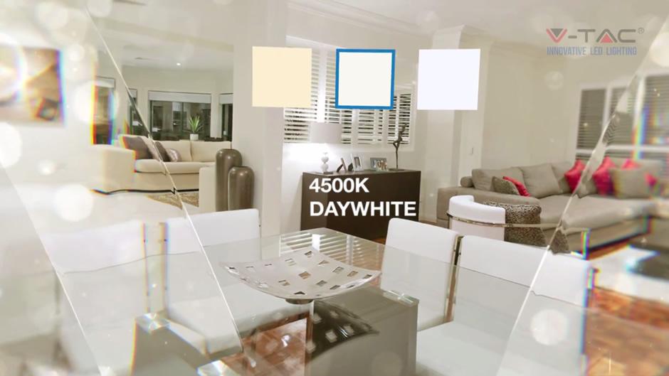 prirodno bela boja - dnavno bela led svetlost