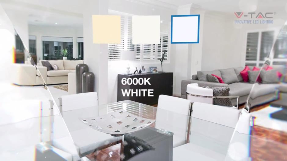 hladno bela led svetlost - 6000k